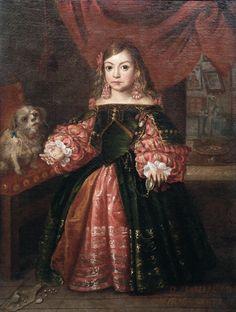 Juan Bautista Martínez del Mazo (c. 1611 - Madrid, 1667) fue un pintor barroco español, discípulo y yerno de Velázquez.  'Retrato de Doña Isabel María de Azcáraga y Cortázar'