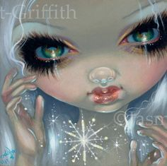 Snowflake face - Jasmine Becket-Griffith