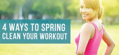 Have you fallen behind on your New Year's resolution to lose weight or get fit? Whether you have reached a plateau with your progress or have simply lost interest in going to the gym, springtime may present great opportunities to clean up your fitness routine for better results.