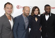 Jude Law, Jason Statham, Rose Byrne and 50 Cent attend the CinemaCon Big Screen Achievement Awards at Caesar's Palace Omnia Nightclub in Las Vegas, Nev., on April 23, 2015.
