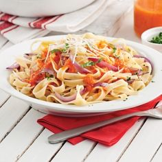 Tagliatelles au pecorino et huile piquante - Recettes - Cuisine et nutrition - Pratico Pratique
