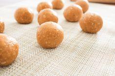 3 Ingredient Healthy Peanut Butter Protein Balls
