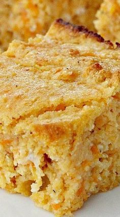 This tasty cornbread is a clean eating recipe using honey instead of sugar and wholesome dairy ingredients. This recipe uses stone ground cornmeal and gluten free flour instead of regular Sweet Potato Cornbread, Sweet Potato Recipes, Cornbread Recipes, Recipe Using Honey, Biscuit Bread, Good Food, Yummy Food, Muffins, Scones
