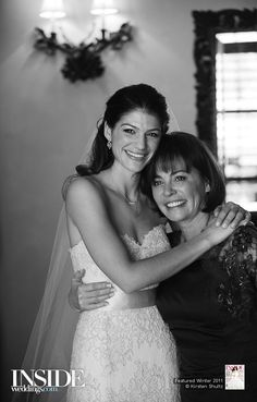 Genevieve with her Mom