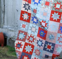 Tutorial for Star Block Quilt