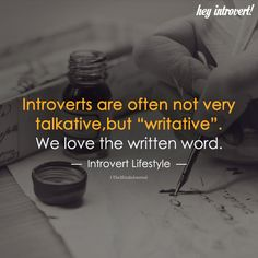Introverts are often not very talkative introvert personality, introvert lo Introvert Love, Introvert Personality, Introvert Quotes, Introvert Problems, Infj Infp, Isfj, Ambivert, Writing Quotes, Psychology Facts
