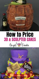 3D Cake Pricing | Sculpted Cake Pricing | How much to charge for cakes | how to price cakes | cake pricing help | angel foods | cake business school Cake Business, Business Advice, Online Business, Autumn Wedding, Spring Wedding, Metallic Cake, Pastry Cook, Cupcake Cakes, Cupcakes