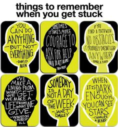 A Teacher's Bag of Tricks: Monday Quote: Things to Remember when you get Stuck