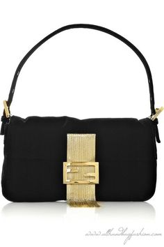 6bbc6299f6 Fendi Baguette fringed velvet shoulder bag Clutch Bag