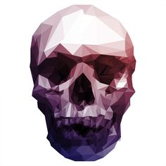 Facets (http://skullappreciationsociety.com/halftone-polygons-skulls-by-jesse-johanning-process/)