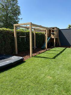 Door Protection, Getaway Cabins, Wooden Playhouse, Roof Structure, Low Maintenance Garden, Backyard Garden Design, Pergola Designs, Play Houses, Eco Friendly