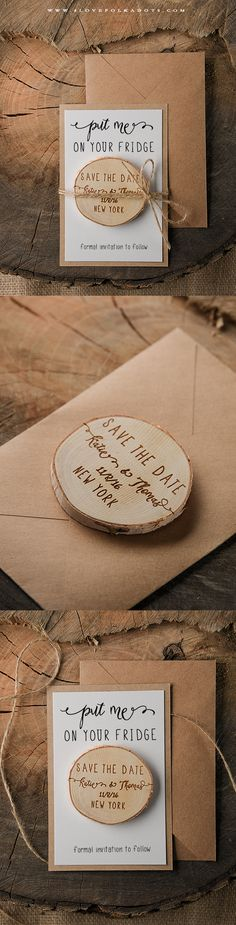 Save the Date idea? Or Party Favor idea with different text.