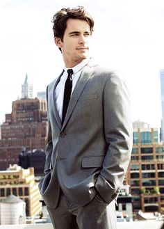 Matt Bomer -- I CANNOT stop obsessing LAWWWDD.. I'm a sucker for a man in a suit