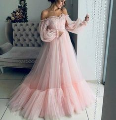 Makeup Looks Discover Off the shoulder dress for wedding guest fluffy tulle dress for women with corset floor length maxi dress formal off shoulder gown any color Elegant Dresses, Pretty Dresses, Beautiful Dresses, Awesome Dresses, Crazy Dresses, Classic Dresses, Fabulous Dresses, Gorgeous Dress, Simple Dresses