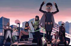 Comic Books Art, Comic Art, Book Art, Black Artwork, Cool Artwork, Character Art, Character Design, Black Comics, Dc Comics