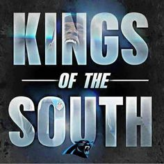 Panthers kings of the nfc south the nfc and the nfl Panthers Football, Football Team, Panther Country, King Of The South, Carolina Pride, Nfc South, Panther Nation, Carolina Panthers, Cam Newton