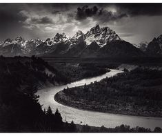 ANSEL ADAMS: The Tetons and the Snake River, Grand Teton National Park, Wyoming - Now on Tour