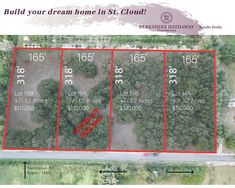 4 Awesome High and Dry lots with oak trees, and ready to build in an Excellent Location! Build Dream Home, Office Address, Office Names, School Info, Vacant Land, Mls Listings, Oak Tree, Office Phone, Virtual Tour