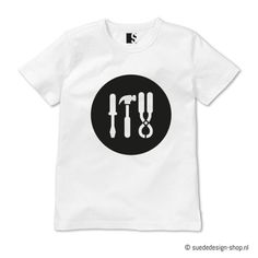 T-shirt 'Tools' #suededesign