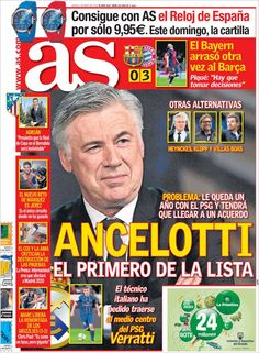 Los Titulares y Portadas de Noticias Destacadas Españolas del 2 de Mayo de 2013 del Diario Deportivo AS ¿Que le parecio esta Portada de este Diario Español?