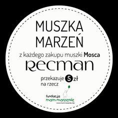 To dzięki Wam i muszkom Mosca spełniło się marzenie małego Miłosza. Kolejni podopieczni Fundacji Mam Marzenie czekają na Wasze wsparcie. Bo najpiękniejsze marzenia, to marzenia, które się spełniają! bit.ly/Recman_MuszkiMosca  https://youtu.be/_QUc2wRDUDU