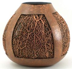 Phyllis Sickles gourds. Many gorgeous gourds on this page!