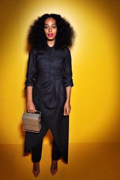 I Got Rhythm Grey and Solange Knowles outfit.  #lautem #design #handbag #fashion