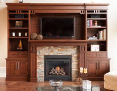As the weather cools down, think about how you are going to keep warm this winter! We have 3 standard options of fireplace mantles which can all be customized to suite your tastes.