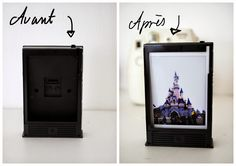 DIY cadre photo Instax mini 8