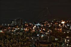 Favela at night HDR
