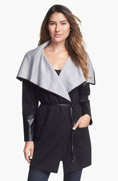 Beatrix Ost Wrap Sweater with Belt available at #Nordstrom