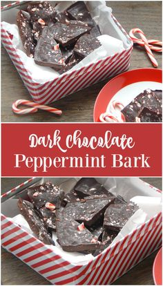 Dark Chocolate Peppermint Bark. This is a delicious and healthy holiday recipe. Get coconut oil into your diet with this treat!