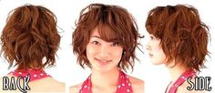short hair do this is what mine would look like I believe