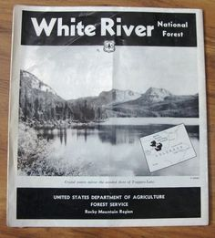 The US Forest Service A History Books Worth Reading - Us forest service maps