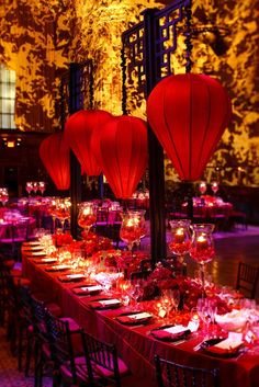 Old shanghai tablescape how gorgeous would this be for a chinese exotic events often involve dramatic light color and in this case lanterns ex chinese new year junglespirit Choice Image