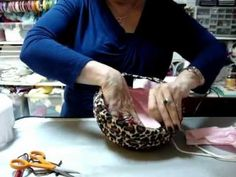 Covering and Lining a Pillbox Hat Part 1 Hat Band Part 2