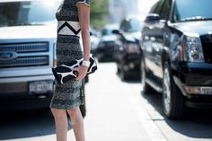 b+w | Street Style From New York Fashion Week, Day Two - The Cut
