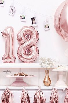 Check out our huge range of foil balloons for party in Melbourne. We deals in decoration party goods and foil balloons to sell distributors and wholesalers. Rose Gold Number Balloons, Foil Number Balloons, Confetti Balloons, Disco Birthday Party, 16th Birthday, Birthday Ideas, Birthday Parties, Happy Birthday