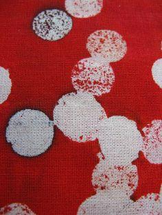 Umbrella Prints: fabric Bokeh