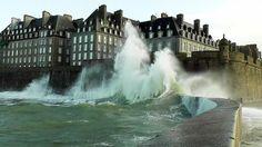 Saint-Malo, grandes marées