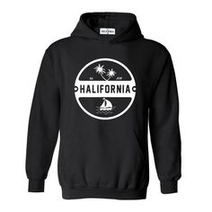 Black pullover hoodie made of Airlume combed and ring-spun cotton and smooth polyester fleece. Hoodie Outfit, Hoodie Jacket, Hooded Sweatshirts, Hoodies, T Shirt World, Lifestyle Clothing, Men's Clothing, White Hoodie, Direct To Garment Printer