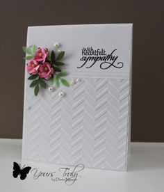 Verve sympathy by YoursTruly - Cards and Paper Crafts at Splitcoaststampers