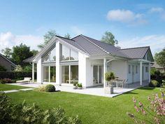 Der vom Traumhauspreis 2013 gekürte, lichtdurchflutete Bungalow zeigt, wie bequem Wohnen auf einer Ebene sein kann.