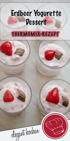 I love this strawberry yogurette dessert. Fruity quick and delicious! The post I love this strawberry yogurette dessert. Fruity quick and delicious! appeared first on Win Dessert. Bon Dessert, Dessert Simple, Oreo Dessert, Quick Dessert Recipes, Easy Cheesecake Recipes, Easy Desserts, Keto Desserts, Desserts Thermomix, Cream Cheese Recipes