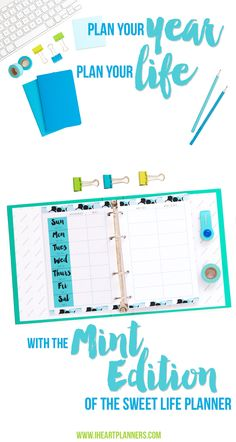 Complete printable planner to help your reach your goals this year. Includes over 100 pages of organizing goodness including planning, goal setting, finance, budgeting, meal planning, and more. It's available in both full letter size and half letter size to fit your junior discbound planners or A5 Filofax or other ringbound systems.
