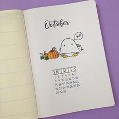 Sharing with you my October Set Up in my Bullet Journal. See which spreads I'm using this month + a free printable.