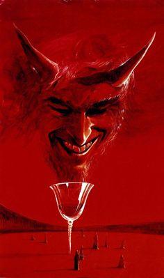 To 'Dune' and beyond: The interstellar hyper-realism of Wojciech Siudmak Ange Demon, Demon Art, Devil Aesthetic, Red Aesthetic, Arte Horror, Horror Art, Dark Fantasy Art, Dark Art, Science Fiction