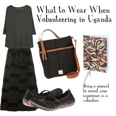 What to Wear When Volunteering in Uganda: Keep cool with a loose shirt and skirt that covers your knees. A crossbody bag is the best option for keeping your belongings safe. Take a journal with you so you never forget your experience.