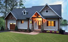 Outdoor Lover's Cottage House Plan - 25600GE - 01