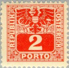 Znaczek: Coat of arms & digit (Austria) (Postage Due) Mi:AT P176,Sn:AT J176,Yt:AT P172,ANK:AT P176,AFA:AT P176